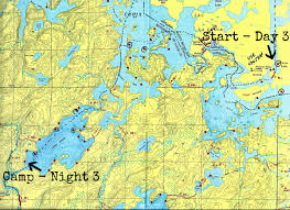 Boundary Waters Map Bwca And The Quetico Scenery And Solitude Sarahmartinhood Com
