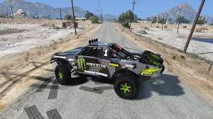 trophy truck monster energy livery color gta5 mods