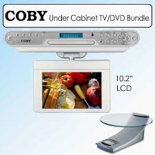 Tv For Kitchen Cabinet Coby 10 2 Under Kitchen Cabinet Tv Dvd Cd Player Radio Monsterlune