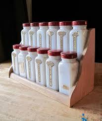 Spice Rack Empty Jars Best 25 Glass Spice Jars Ideas On Pinterest Spice Jars Glass