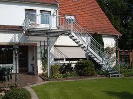 balkon mit treppe balkon mit treppe und standrohr verzinkt mathias reeker