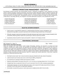 Director Resume Examples by Director Of Operations Resume Sample Recentresumes Com