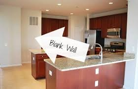 blank kitchen wall ideas how to build open stained shelves 11 magnolia