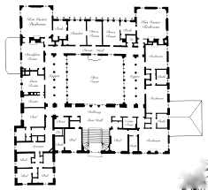 historic english country house floor plans