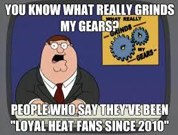 Heat Fans Meme - heat fans grind peter s gears new york knicks memes