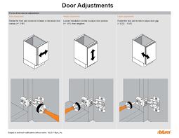 Adjusting Cabinet Doors Tutorial Adjusting Doors And Drawers Plain Fancy Cabinetry