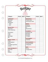 wedding planning book organizer the wedding planner attendants worksheet has room for names and