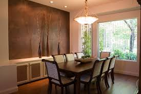 modern house interior design living and dining room wallpaper