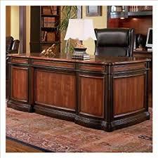 Brown Office Desk Coaster Furniture Garson Executive Desk Kitchen Dining