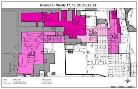 Kenosha Wisconsin Map by District 5 City Of Kenosha