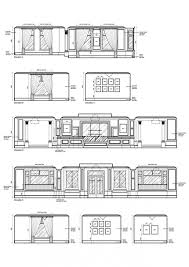 autocad elevation drawings free interior design plan section and