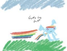 Sonic Gotta Go Fast Meme - 343164 gotta go fast meme ms paint rainbow dash safe sanic