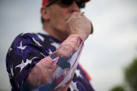 die hard fans extreme donald trump fans pictures cbs news