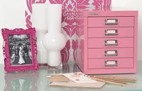 Pink Filing Cabinet 5 Multidrawer Filing Cabinet H125nl Pink