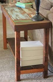 Wood Sofa Table Best 25 Wood Sofa Table Ideas On Pinterest Diy Living Room