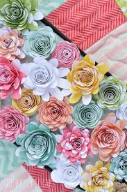 Handmade Flowers Paper - best 25 handmade paper flowers ideas on pinterest paper flowers