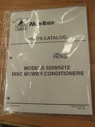 new idea 5209 5212 mower conditioner discbine haybine disc parts