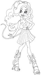 free printable monster high coloring pages mouscedes king monster
