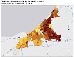 Map Cleveland Ohio by Cdc Releases Interactive Neighborhood Level Health Data For 500