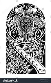 royalty free traditional maori tattoo design with u2026 345033665