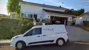 Tesla Minivan Tesla Model S Service Screens Exposed Cleantechnica