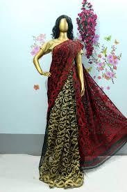 dhakai jamdani dhakai jamdani saree swanky cart buy exclusive sarees online