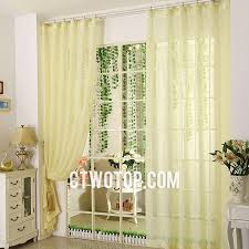 Yellow Sheer Curtains Lemon Yellow Toile Cheap Clearance Beautiful Sheer Curtains