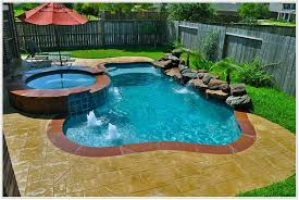 inground pool for small backyard round designs