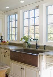 kitchen white bowl farmhouse sink stainless steel