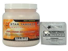target black friday daytona beach star targets exploding rifle target plastic canister mpn st 0932