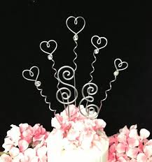 62 best wire cake toppers images on wire cake topper