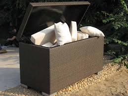 Patio Cushion Storage Bin by Top Outdoor Cushion Storage Containers Ideas Diy Plans For An