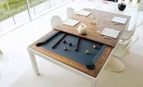 Pool Table Top For Dining Table Turn Your Dinner Table Into A Pool Table Better Living