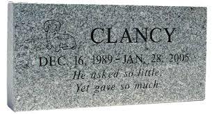 pet headstones pet burial pet headstone granite