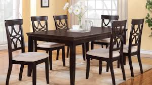 Beachy Dining Room Sets - spacious latest round dining room table for 6 with sets in chairs