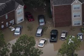 storm flooding destroyed hundreds of thousands of cars in a city