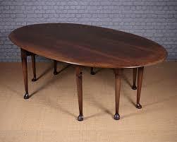 Oak Drop Leaf Dining Table Antiques Atlas Large Oak Drop Leaf Dining Table