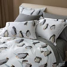 Garnet Hill Duvet Cover Penguin Promenade Flannel Sheets Found Via Pinterest Pillowcases
