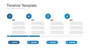 timeline ppt template free 5p just free slides
