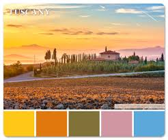 Warm Colors Palette by European Destinations Color Palette