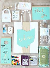 personalized wedding gift bags diy wedding guest gift bags essentials lydi out loud