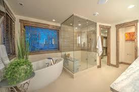 bathroom trim ideas bathroom rustic with wood trim sauna shower