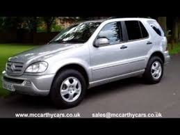used mercedes m class uk used mercedes ml class m class ml270 for sale croydon surrey uk