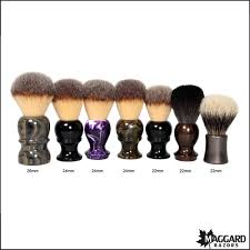 100 butcher block brush maggard razors 30mm black white maggard razors 24mm synthetic shaving brush marble handle