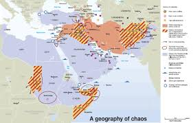 Middle East Geography Map by The Geography Of Chaos The Gulf Blog