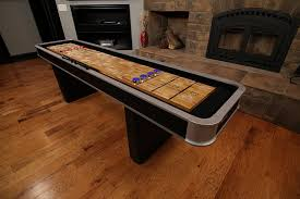 How Long Is A Shuffleboard Table by Amazon Com Atomic 9 U0027 Platinum Shuffleboard Table Shuffleboard