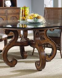 Glass Top Pedestal Dining Room Tables Outstanding Reclaimed Wood Pedestal Dining Room Table Base Ideas