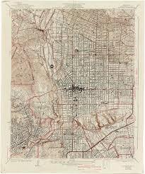 Yosemite Topo Map California Topographic Maps Perry Castañeda Map Collection Ut