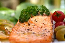cuisiner du saumon au four saumon au four et émulsion méditerranéenne châtelaine