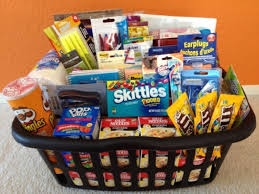 family gift basket ideas college care gift baskets college survival kit for guys